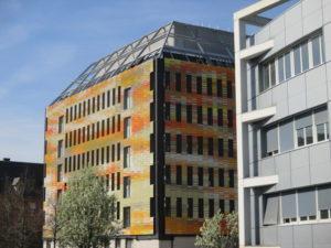 Bâtiment centre recherche biomédecine