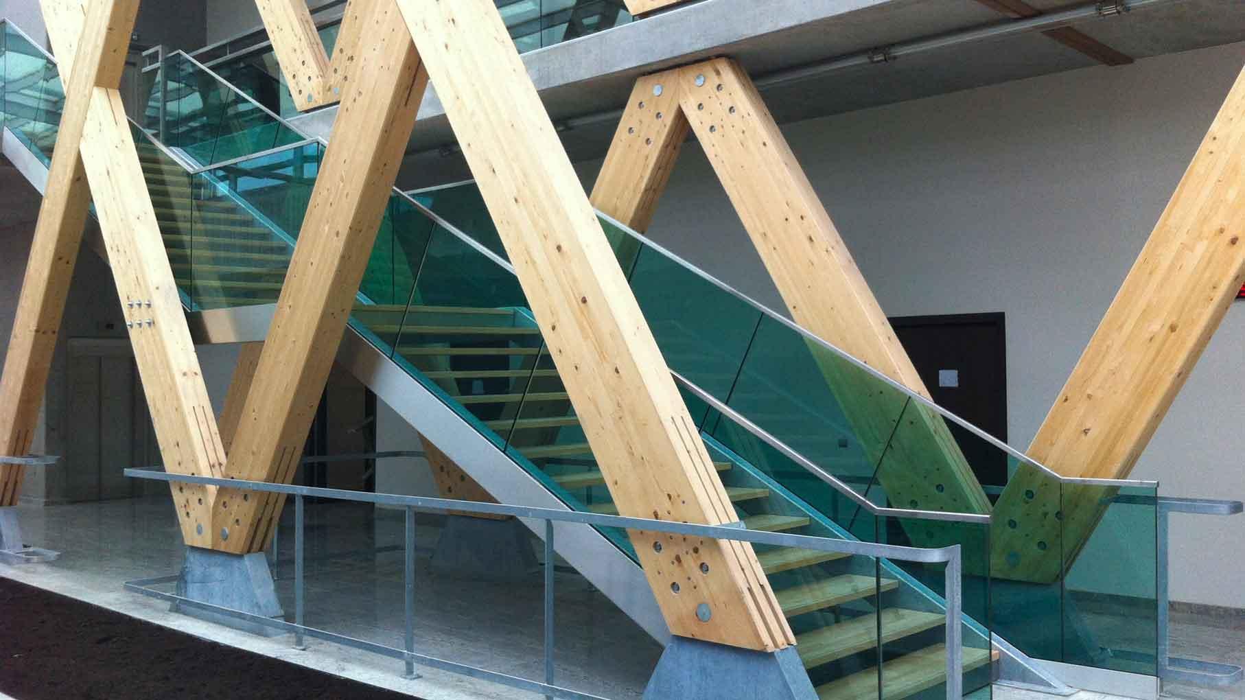 escalier école d'ingénieur Strasbourg