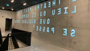 mur intérieur théâtre le maillon