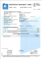 PDF Certificat qualibat RGE